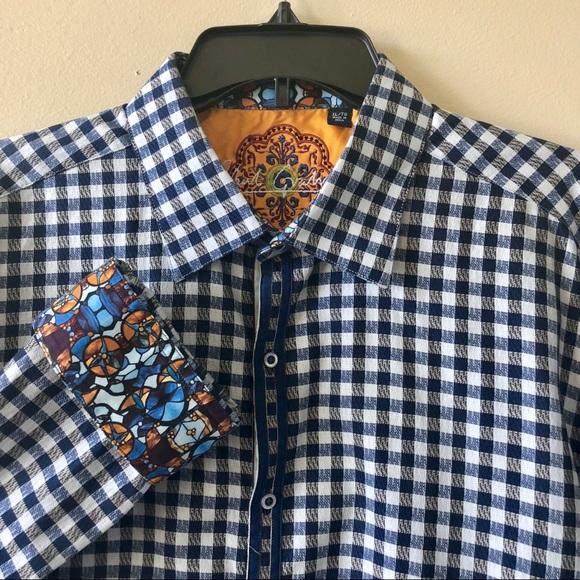 Robert Graham Shirts Designer Mens Longsleeve Shirt Poshmark